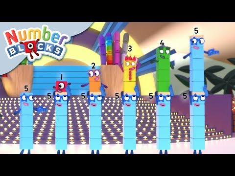 Numberblocks - Standing Tall | Learn to Count