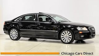 chicago cars direct reviews presents a 2007 audi a8 l 4 2l lwb n024949