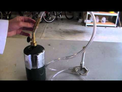 DIY Bunsen Burner Fuel Source (Propane)