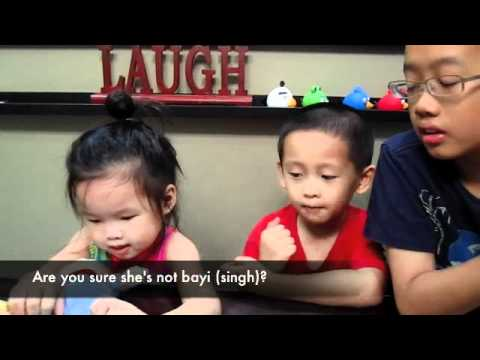 Singlish - 9: Singapore's Ah Beng