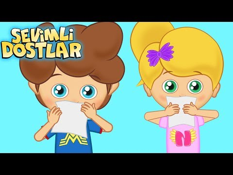 Hapşu - Sevimli Dostlar çizgi film çocuk şarkıları 2017 - Adisebaba TV Bebek Şarkıları