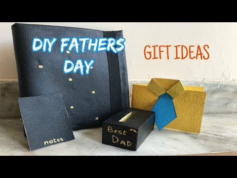 DIY Father's Day Gift Ideas 2017!! (India)