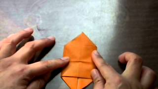 Japanese Traditional Origami 'ship'