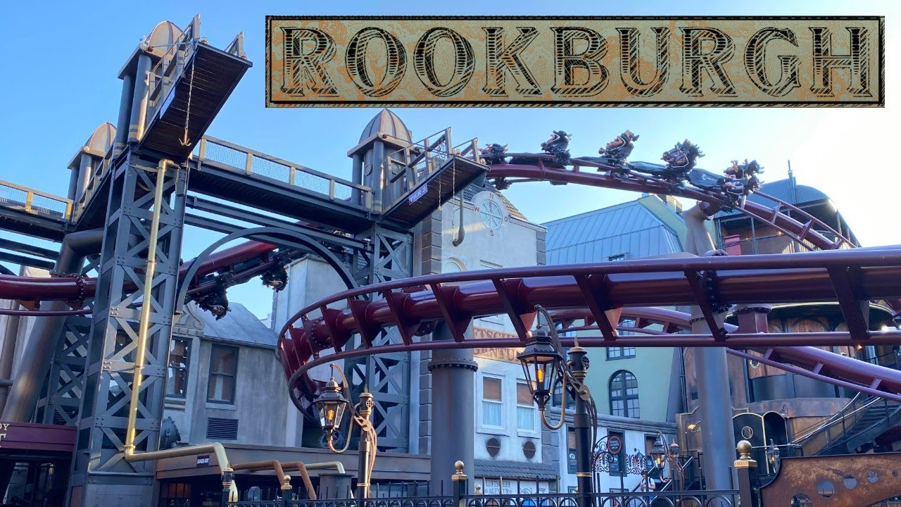 Rookburgh Full Area Walkthrough - Phantasialand | Steampunk Themed Land!