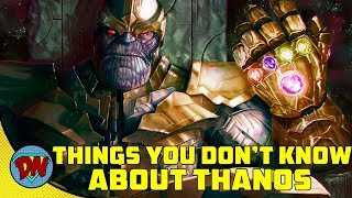 5 Things You Don't Know About THANOS | Explained in Hindi