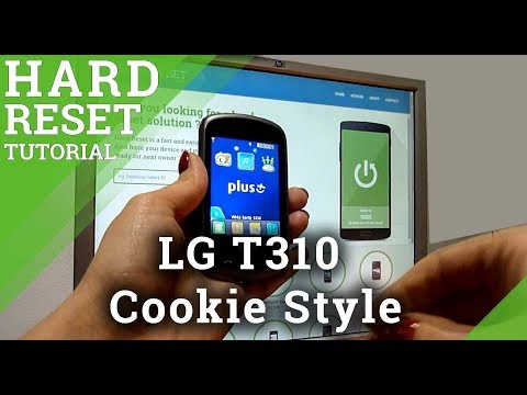 Hard Reset LG T310 Cookie Style