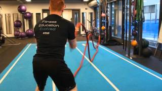 Battle Ropes - Whip Movements