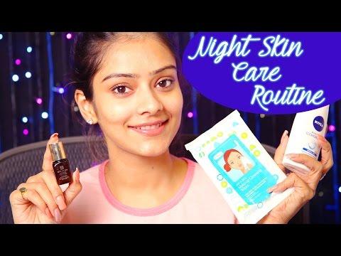 Night Skin Care Routine | Routine Makeup | Night Makeup |  Makeup Tutorials | Foxy Makeup