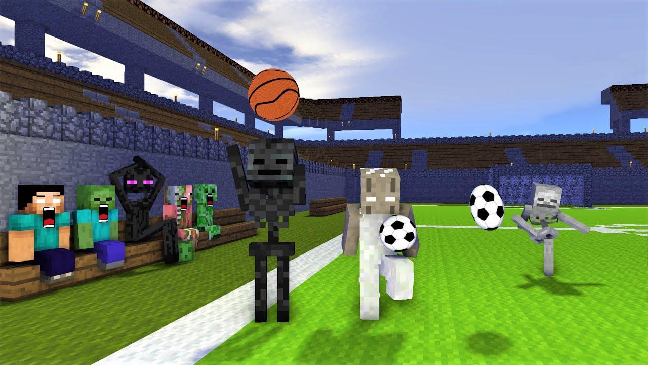 Monster School : Granny Sport Challenge - Minecraft Animation