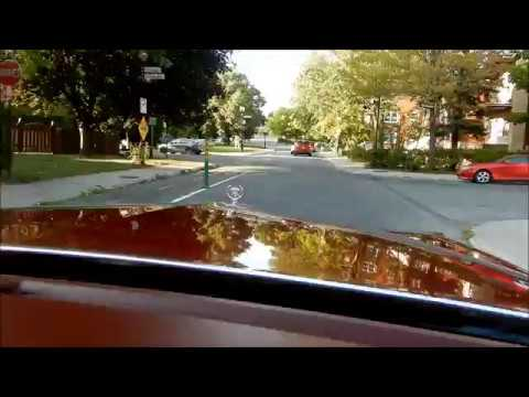 92 CADILLAC FLEETWOOD BROUGHAM RIDE IN MONTREAL PART 1 ...