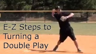 Baseball Fielding Double Plays 2B to SS