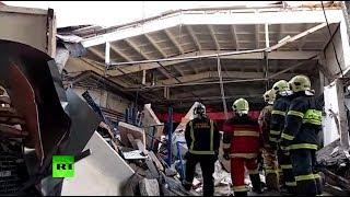 В Дзержинском обрушилась кровля здания: погибли три человека