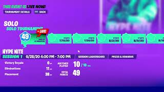 *Live* Fortnite| My First ever HYPE NITE!!!!!!
