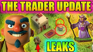 👑What TRADER has for us?||Trader concept leaked||clash of clans||in hindi||deals by TRADER