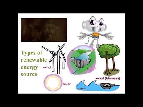 Renewable and Non Renewable Energy
