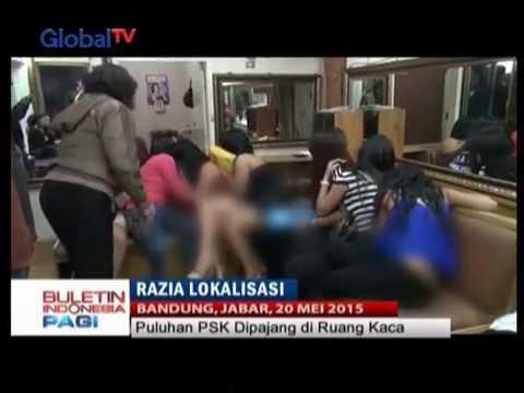 Razia Lokalisasi Di Bandung: 400 Rumah Warga Diperiksa, Lebih Dari 200 PSK Diamankan - BIP 21/05