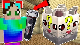 Minecraft: CLOUD LUCKY BLOCK!!! (CLOUD'S MOM, LASER POINTER, & RAZOR) Mod Showcase
