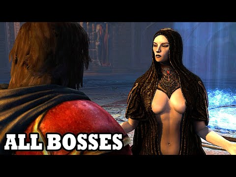 Castlevania: Lords of Shadow - All Bosses HD (With Cutscenes)