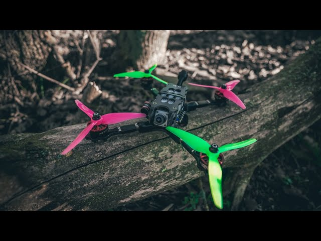 I Built a DJI Racing FPV Drone! (First Test)