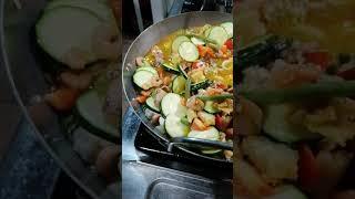 Paella tutorial dal ristorante Casetta di marzapane