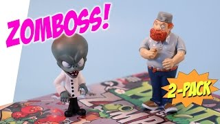 Plants vs Zombies Crazy Dave & Zomboss Comic Book 2 Pack Review