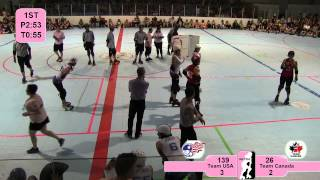 Roller Derby - ECDX 2013: Team USA vs. Team Canada