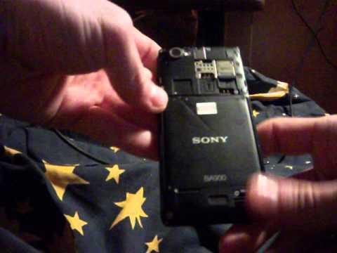 как включить телефон без кнопки включения sony