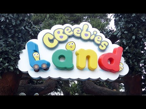 Cbeebies Land at Alton Towers FULL TOUR - ALL RIDES