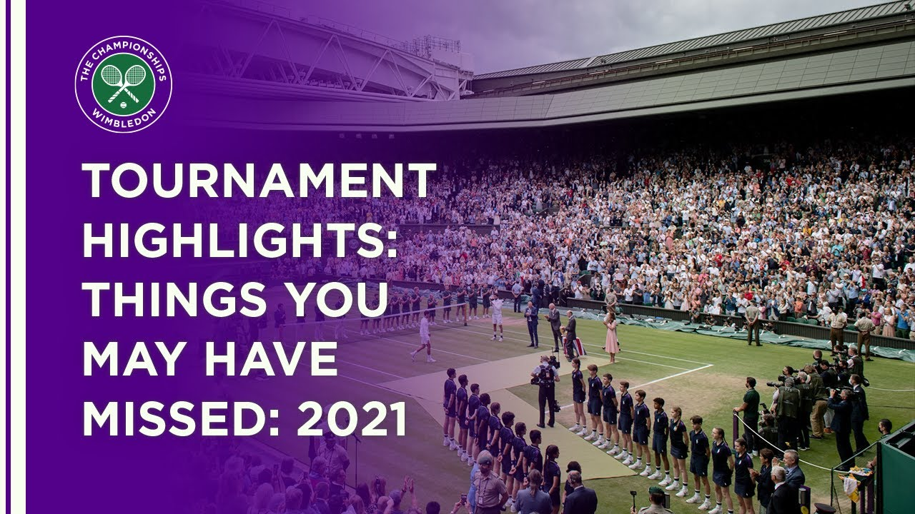 Tournament Highlights | Things You May Have Missed | Wimbledon 2021