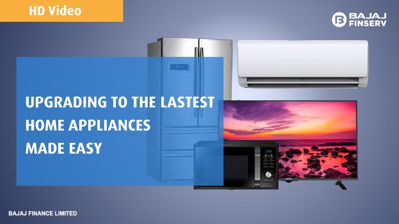 Appliances on EMI: Buy Home Appliances at No Cost EMI | Bajaj Finserv