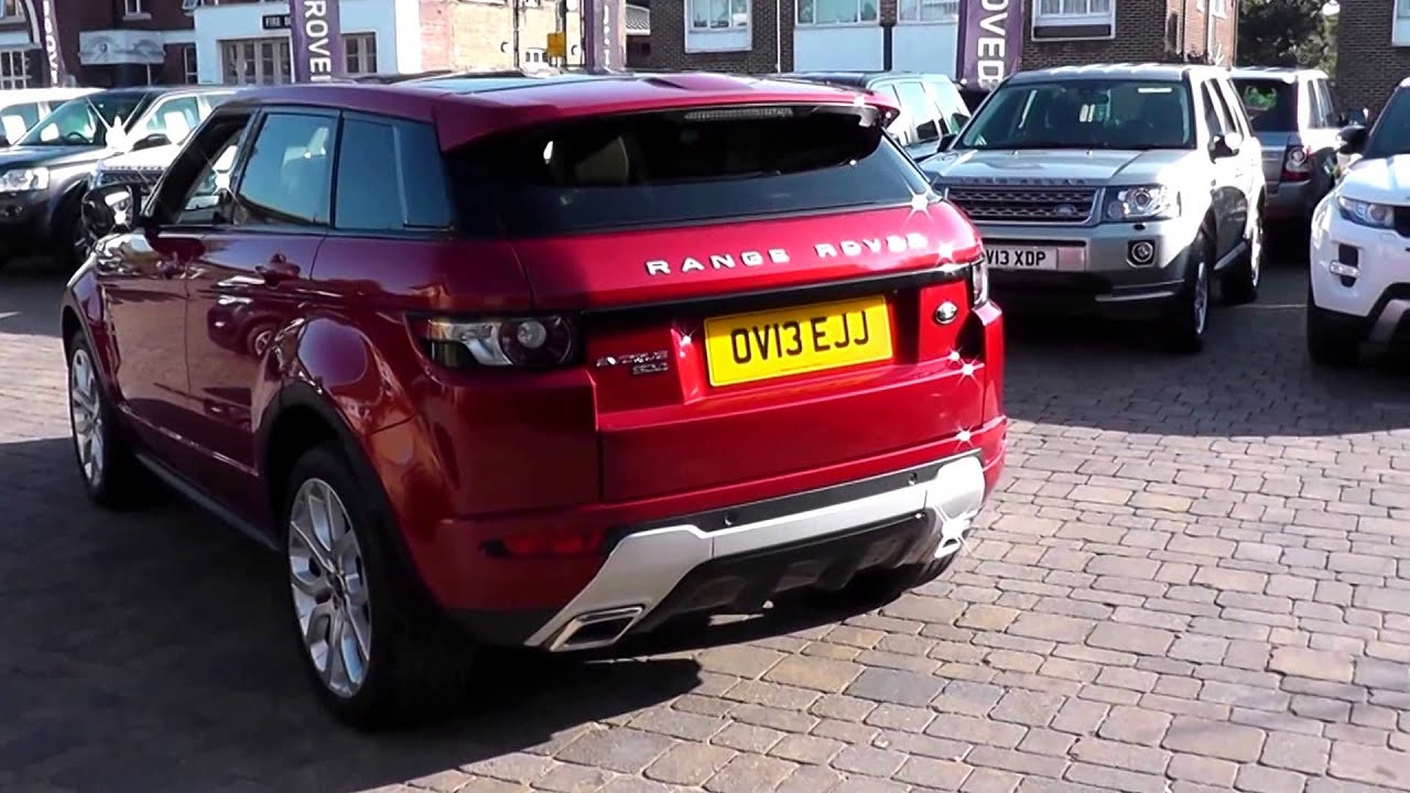 Beadles Firenze Red 2013 Land Rover Range Rover Evoque Dynamic Lux