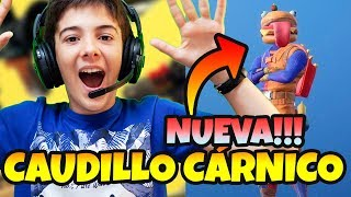 VICTORIA ONLY WITH NEW SKIN FORTNITE DE HAMBURGUESA OR LIVE CARNIC CAUDILLO WITH HUGO MARKER