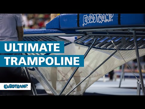 "Video: Eurotramp Trampolin ""Ultimate 4x4"""