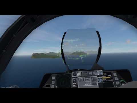 Vtol VR carrier landing