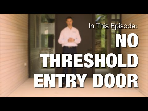 Front Door Hardware - Pivot, No Threshold, Mortise Lock