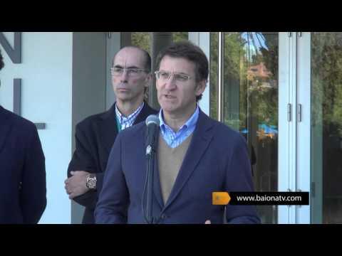 BAIONATV - Inauguración del Renovado Pabellón Municipal de Deportes de Baiona