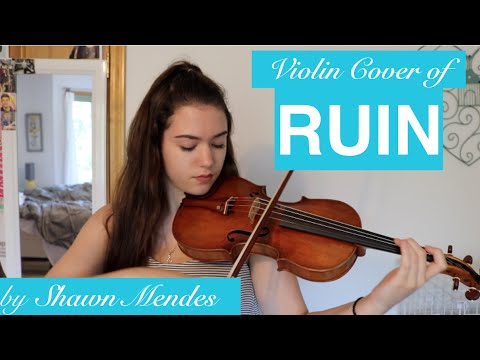 SHAWN MENDES RUIN ~ COVER