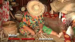 Arts And Crafts Tahiti - Making Objects With Vegetable Fibres From The Screw Pine