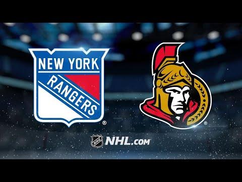 Brassard, Anderson lead Senators past Rangers, 6-3