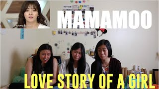 MAMAMOO- Love Story Of A Girl Reaction