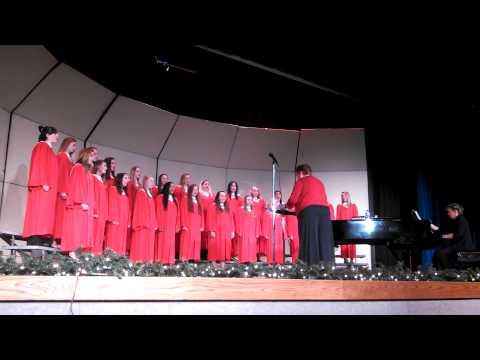 Random Lake High School Women's Ensemble - The Snow Begins to Fall