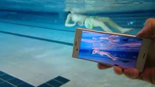Sony Xperia Z3 Compact Underwater Camera Test [4K]