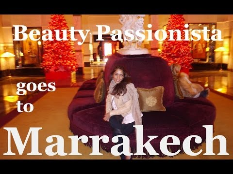 A Weekend in MARRAKECH! My First Vlog - yay!!!