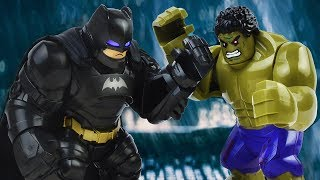 LEGO BATMAN VS HULK | Batman Stop Motion