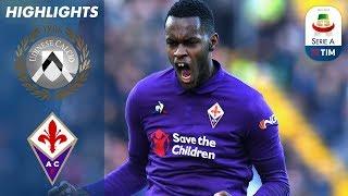 Udinese 1-1 Fiorentina   Fernandes Equalises for Fiorentina    Serie A
