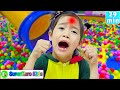I Got A Boo Boo Song + More | 레인보우 생일 케이크 만들기 | SuperHero Kids