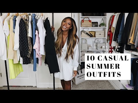 CASUAL SUMMER OUTFITS 2019 | STYLING AND TRY-ON | HIGHLOWLUXXE