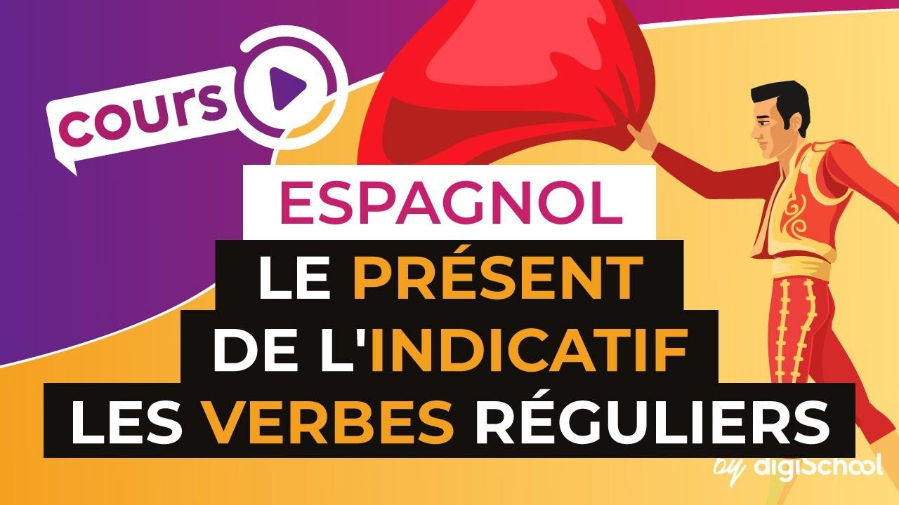 Le Present De L Indicatif Les Verbes Reguliers Espagnol Youtube