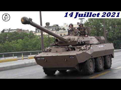 l'Armée Française  défilé du 14 Juillet
