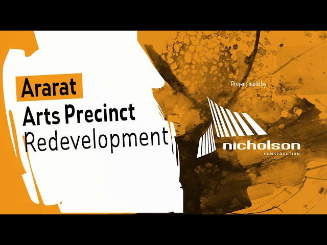 Ararat Arts Precinct Redevelopment Update 03